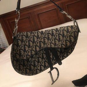 Authentic Christian Dior saddlebag